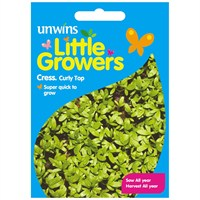 Unwins Seeds Little Growers Cress Curly Top (30510008)