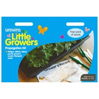 Unwins Seeds Little Growers Propagation Kit (30510022) Seeds for Kids
