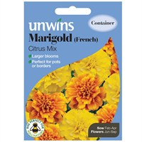 Unwins Seeds Marigold French Citrus Mix (30210564)