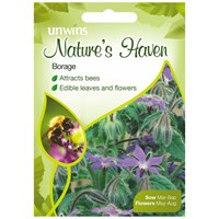 Unwins Seeds Natures Haven Borage (30210288)