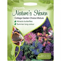 Unwins Seeds Natures Haven Cottage Garden Choice Mixture (30210393)