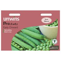 Unwins Seeds Pea (Early) Early Onward (31210034)