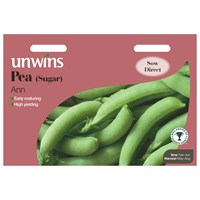 Unwins Seeds Pea (Sugar) Ann (31210031) Vegetable Seeds