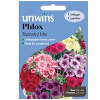 Unwins Seeds Phlox Tapestry Mix (30210580)
