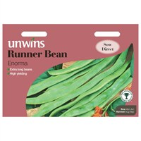 Unwins Seeds Runner Bean Enorma (31210036)