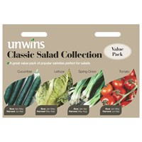 Unwins Seeds Salad Classic Collection (30310175)