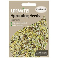 Unwins Seeds Sprouting Seeds Broccoli (30310211)