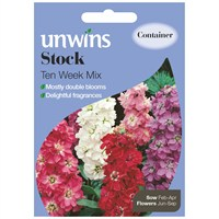 Unwins Seeds Stock Ten Week Mix (30210194)