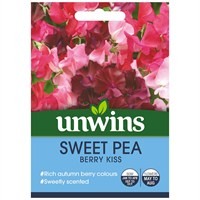 Unwins Seeds Sweet Pea Berry Kiss (30210612)