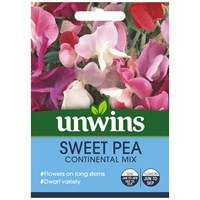 Unwins Seeds Sweet Pea Continental Mix (30210210)