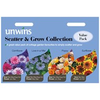Unwins Seeds Unwins Scatter & Grow Collection (30210240)