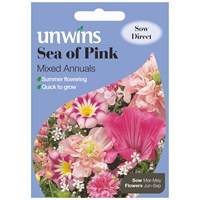 Unwins Seeds Unwins Sea Of Pink Mixed Annuals (30210243)