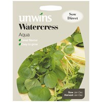Unwins Seeds Watercress Aqua (30310331)