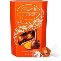 Valentine's Day Gifts - Chocolates Lindt Lindor Truffles - Orange 200g