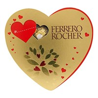 Valentine's Day Gifts - Ferrero Rocher Choclates Heart 10 Pieces 125g