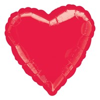 Valentine's Day Gifts - Balloon Foil Design - Red Heart (10584)