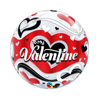 Valentine's Day Gifts - Balloon Bubble Design - 'Be My Valentine' (33907)
