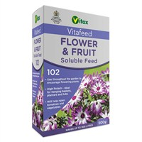 Vitax Flower & Fruit Feed (Vitafeed 102) 500g Soluble Fertilisers (6HB500)
