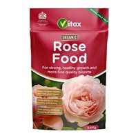 Vitax Organic Rose Food (Pouch) 0.9kg Garden Fertilisers (6ORF901)