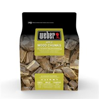 Weber Apple Barbecue Smoking Wood Chunks 1.5kg (17616)