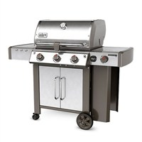 Weber Genesis II LX S-340 GBS - Stainless Steel (61004174) Gas Barbecue