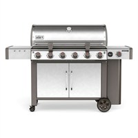 Weber Genesis II LX S-640 GBS - Stainless Steel (63004174) Gas Barbecue