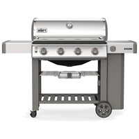 Weber Genesis II S-410 GBS - Stainless Steel (62001174) Gas Barbecue