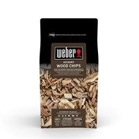 Weber Hickory Barbecue Smoking Wood Chips 0.7kg (17624)