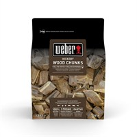 Weber Hickory Barbecue Smoking Wood Chunks 1.5kg (17619)