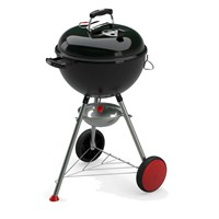 Weber Kettle Plus 47cm Black (13601004) Exclusive Charcoal Barbecue