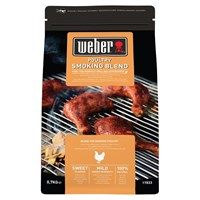 Weber Poultry Barbecue Smoking Wood Chips Blend - 0.7kg (17833)