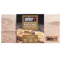 Weber Western Red Cedar Wood Planks - Small (17522)