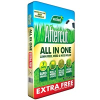 Aftercut All in One Lawn Feed - Weed and Moss Killer - 440 sq.m - 14.08kg (20400468)