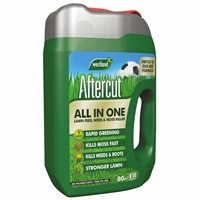 Aftercut All In One Lawn Feed - Weed and Moss Killer Even-Flo Spreader - 80 sq.m - 2.56kg (20400459)
