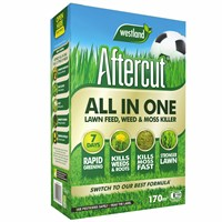 Aftercut All In One Lawn Feed - Weed and Moss Killer - 170 sq.m - 5.25kg (20400473)