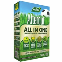 Aftercut All In One Lawn - Feed - Weed and Moss Killer - 100 sq.m - 3.2kg (20400460)