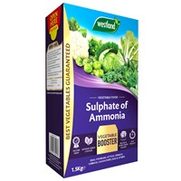 Westland Sulphate of Ammonia Vegetable Crop Food - 1.5kg (20600026)
