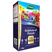 Westland Sulphate of Potash Fruit and Flower Food - 1.5kg (20600028)