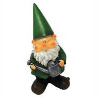 Woodland Wilf Waters The Plants Large Garden Gnome (B9452)