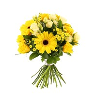 Florists Choice Floral Hand Tied Bouquet - £25