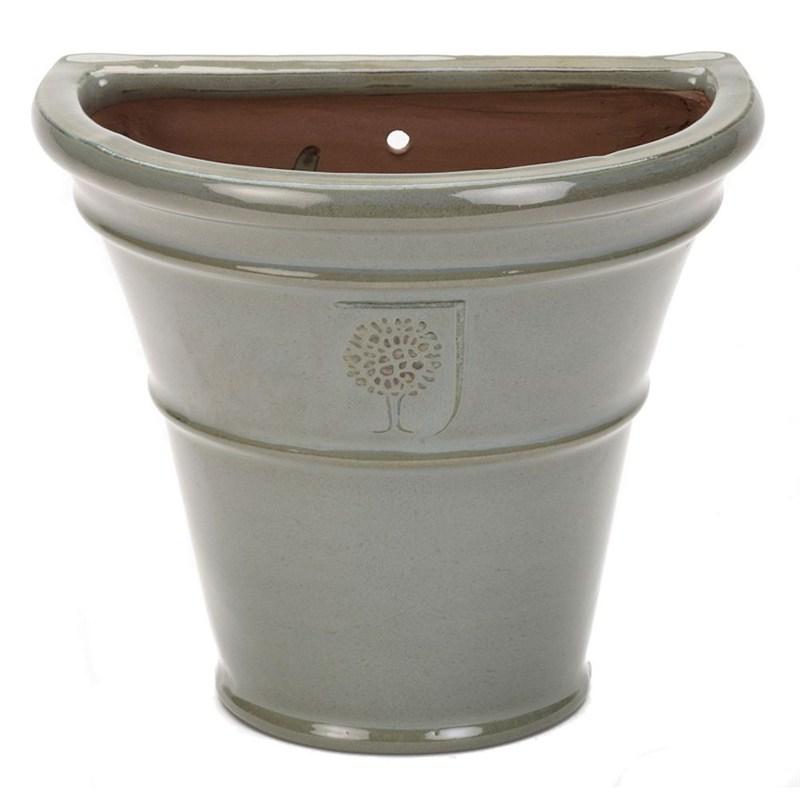 Apta RHS Antique Grey Cone Wall Pot 27cm (RH27GYB)