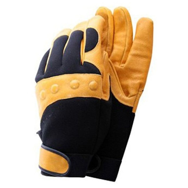 Deluxe Leather Suede Gloves: Town And Country Mens Deluxe Comfort Fit Gloves (TGL432