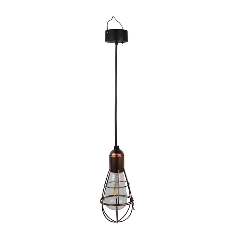Cole Amp Bright Solar Edison Hanging Lightbulb L26218