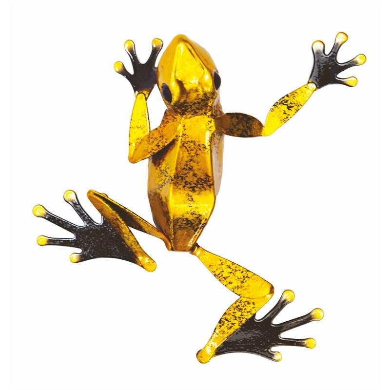 Modern Metal Frog Wall Art Embellishment - Wall Art Collections ...