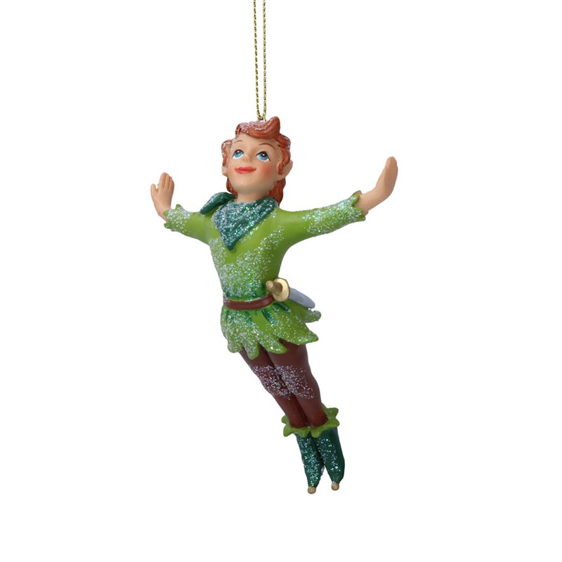 Captain Hook Christmas Decoration Gisela Graham Peter Pan