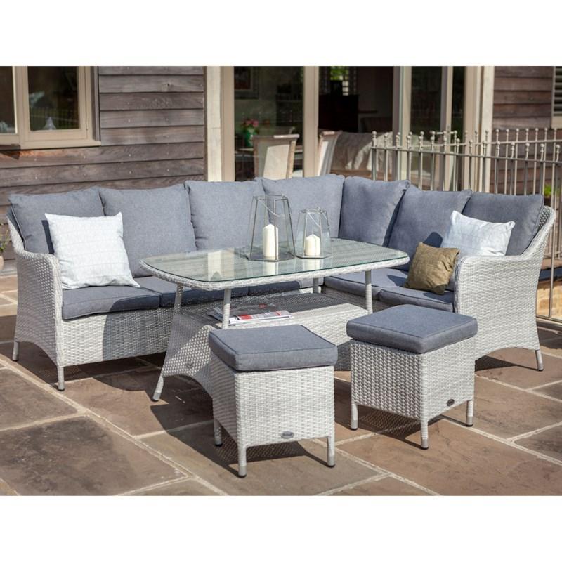 Amazing Hartman Curve Rectangular Casual Outdoor Garden Furniture Dining Set 716003 Frankydiablos Diy Chair Ideas Frankydiabloscom