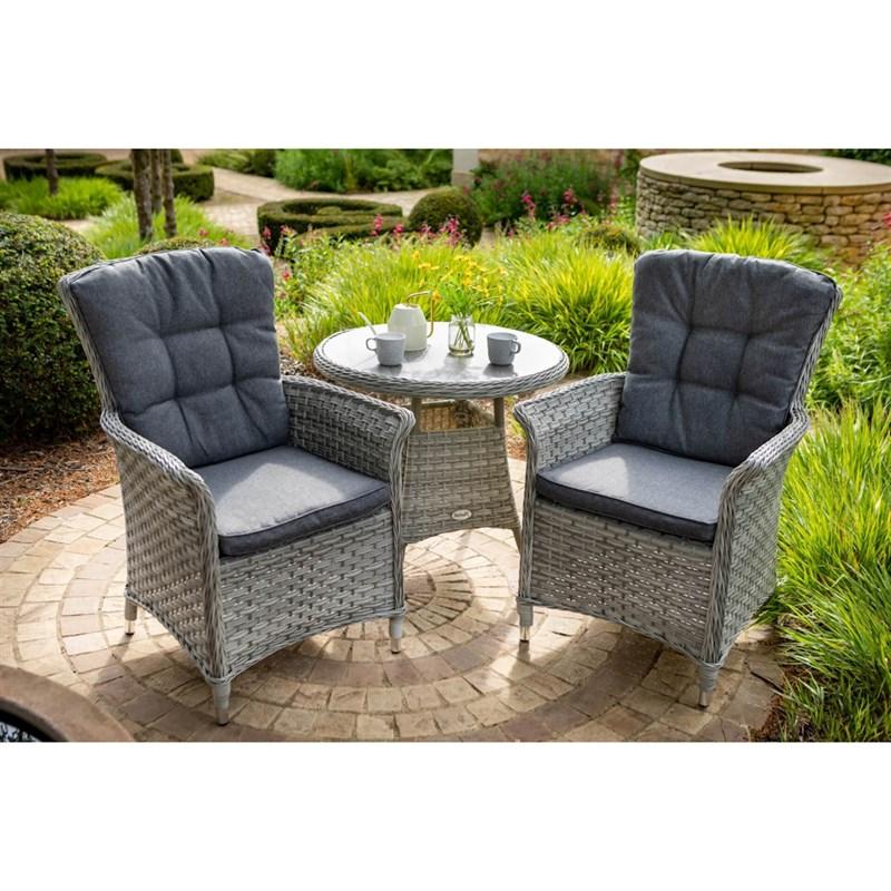 Hartman Heritage Tuscan 2 Seat Bistro Set Outdoor Garden ...