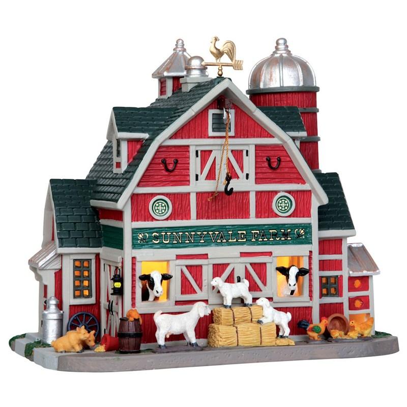 Lemax Christmas Village Sunnyvale Farm Building