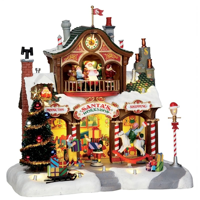 Lemax Christmas.Lemax Christmas Village Santa S Workshop 4 5v Adapter 35558 Uk