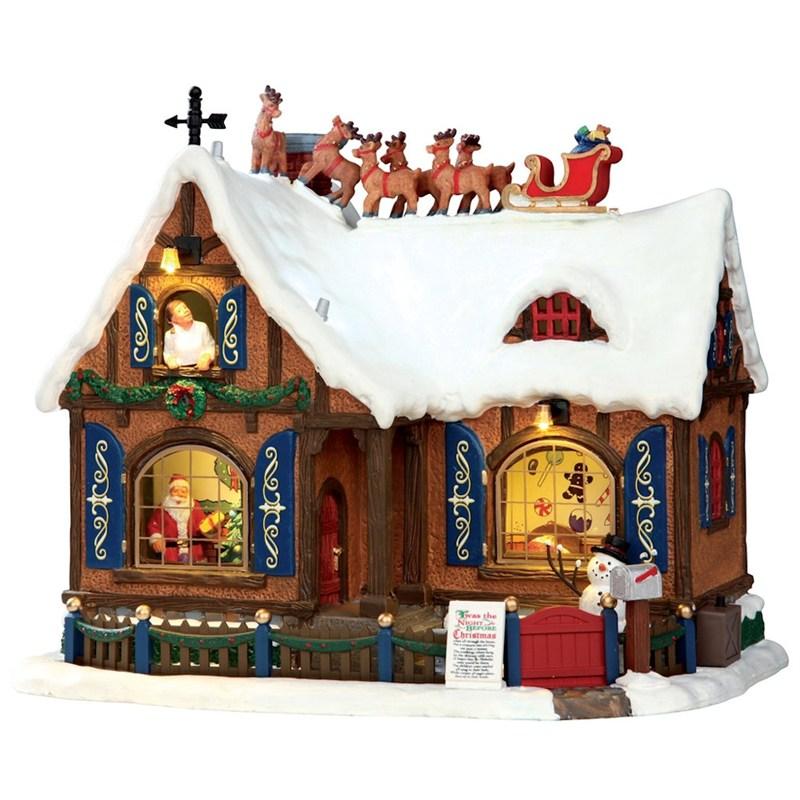 Lemax Christmas.Lemax Christmas Village Twas The Night 4 5v Adapter 55922 Uk